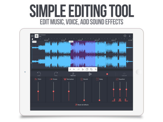 Audio Editor Tool Pro Screenshots