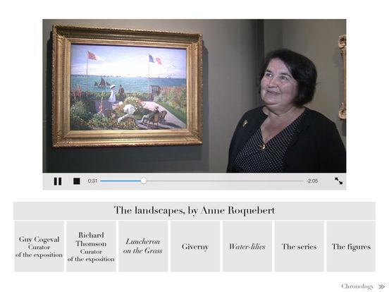 The Monet album : the e-album of the exhibition iPad Screenshot 5