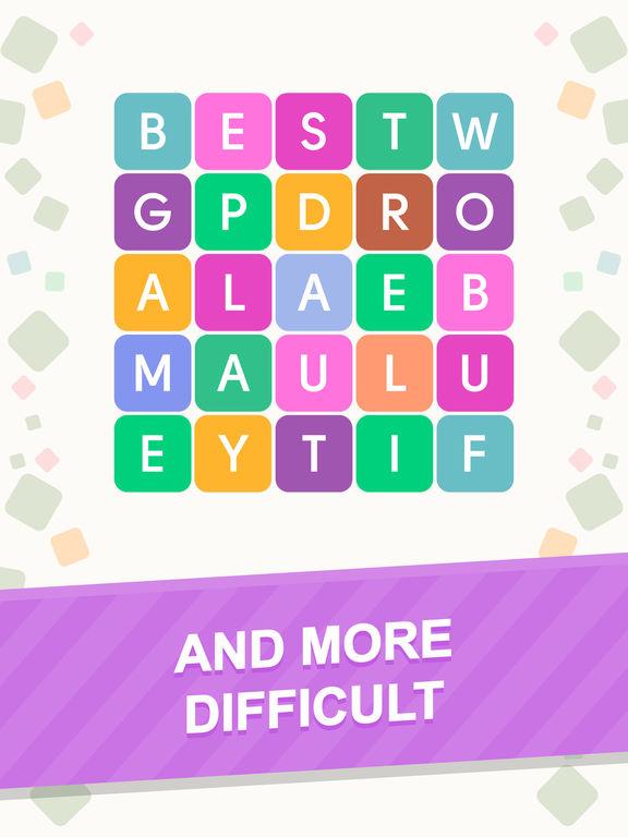 Word Search: Unscramble wordsscreeshot 4