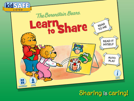 Amazon.com: The Berenstain Bears Learn to Share: Appstore ...