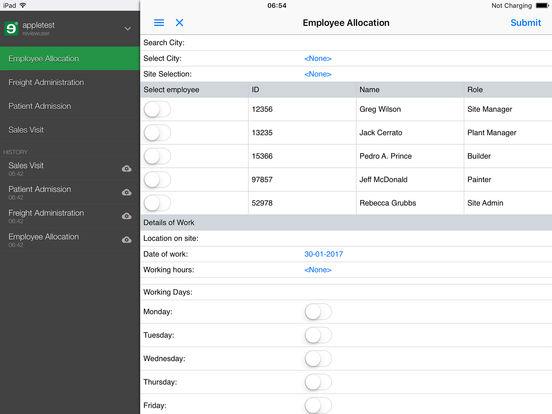 mobilengine iPad Screenshot 1