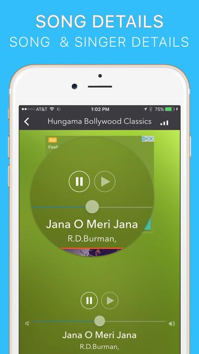 Hindi Radio iPhone Screenshot 2