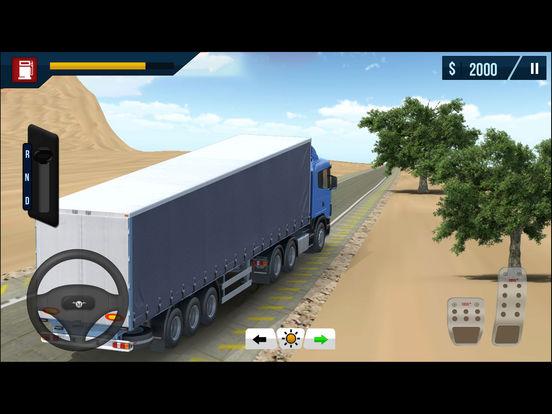 Arab Cargo Truck Driving Simulator Pro screenshot 6