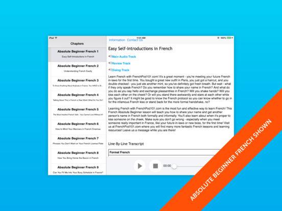Advanced German for iPad iPad Screenshot 1