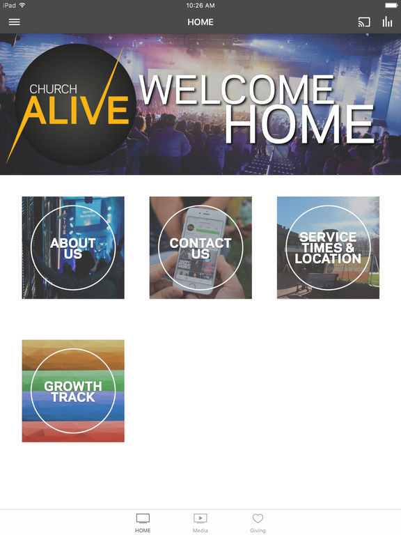 Screenshot #1 for Church Alive