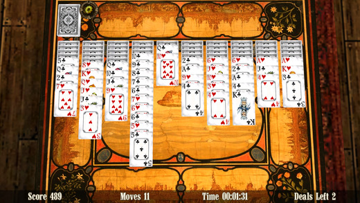 Spider Solitaire 3D Screenshots