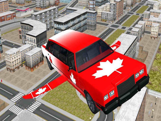 sport flying car simulation 2017 PRO Screenshots