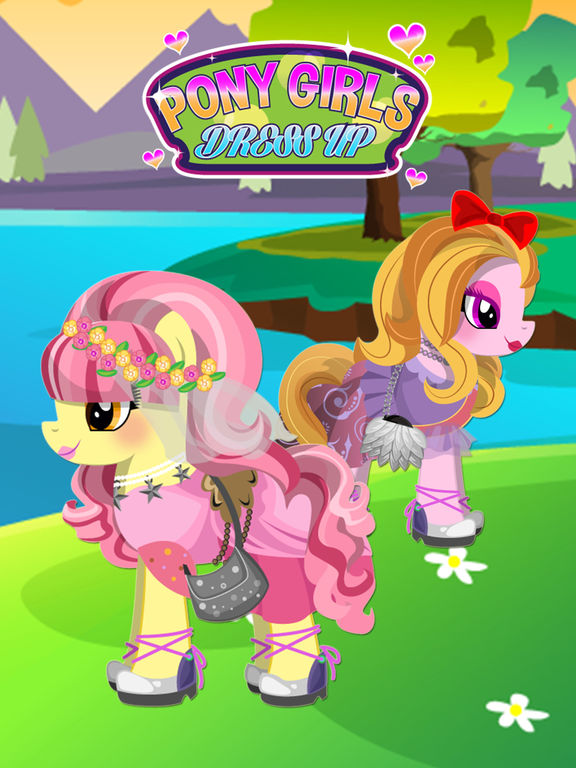 Fun Pony Baby Pet Dress Up Games For Girls & Kidsscreeshot 1