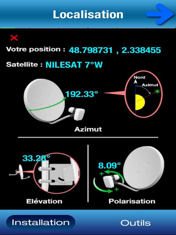 SatCatcher Installation Réglage Parabole Satellite Screenshots