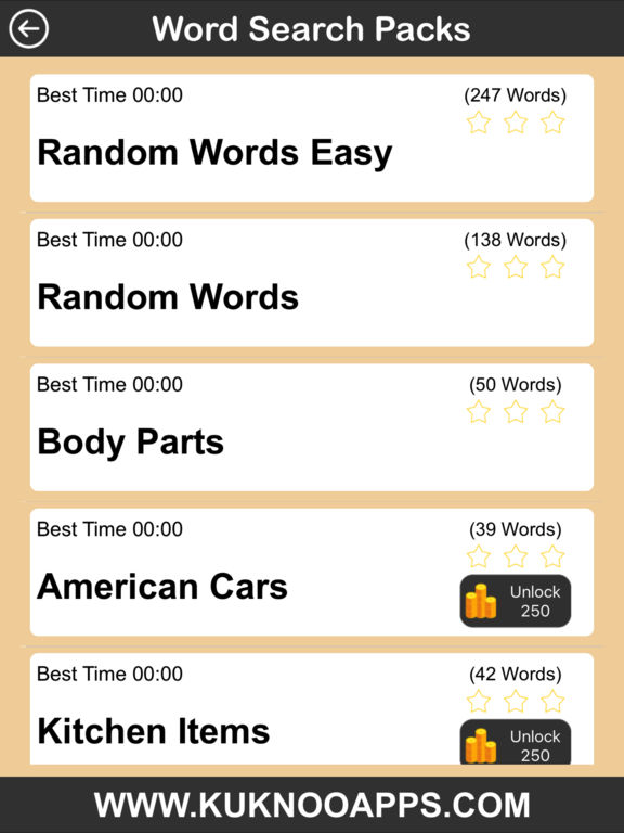 Word Search Pro words finder Puzzlescreeshot 3