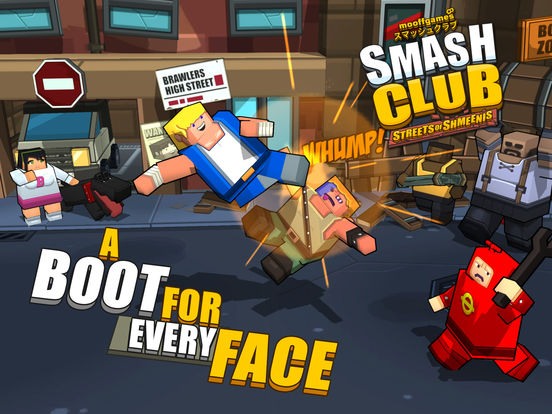 Smash Club: Streets of Shmeenis screenshot 6