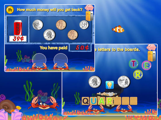 Printables Money Games For Preschool amazing coinusd money counting learning games on the app store ipad screenshot 2