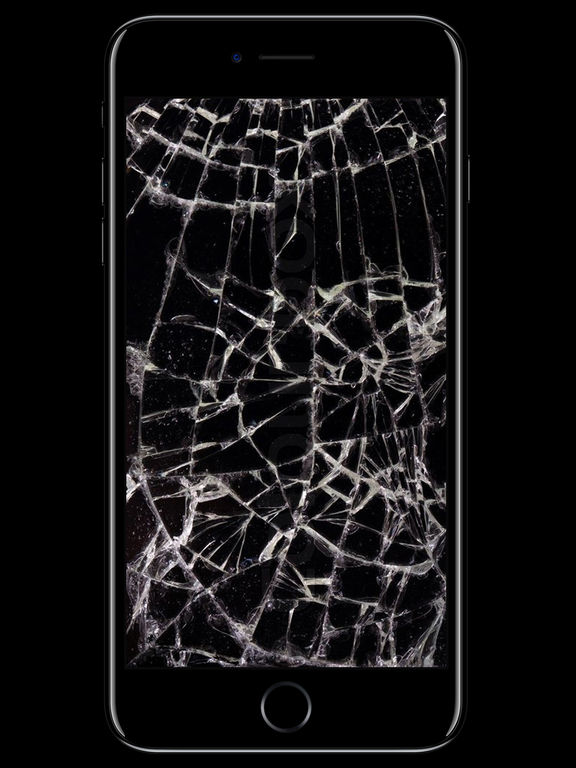 Обои на iphone разбитый экран