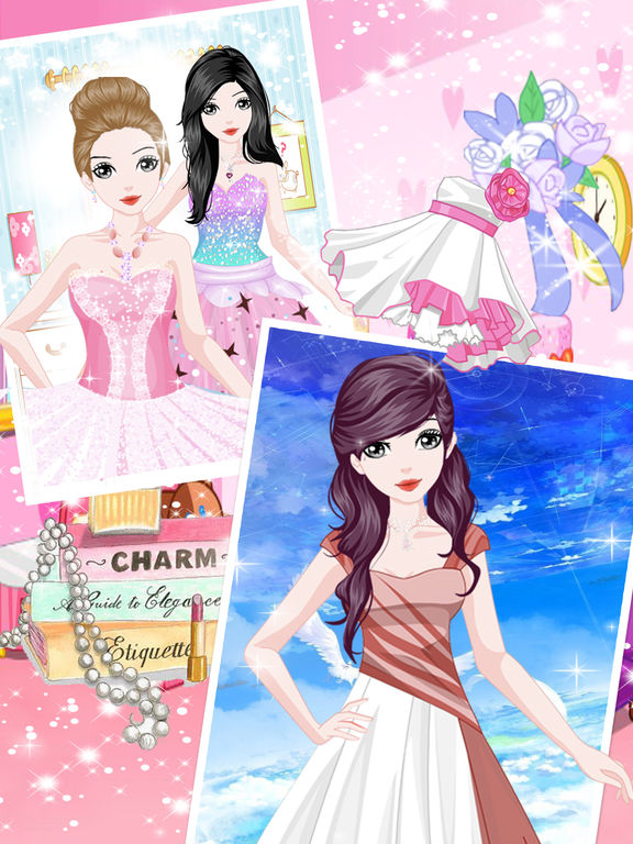 App shopper princess charm fashion beauty girl games games Fashion style and beauty games