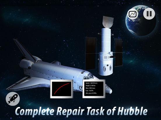 Space Shuttle Pilot Simulator 3D Full screenshot 8