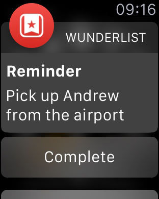 Wunderlist iPhone Screenshot 8