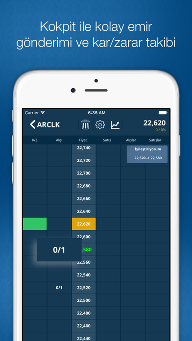 Halk Trader Apps free for iPhone/iPad screenshot