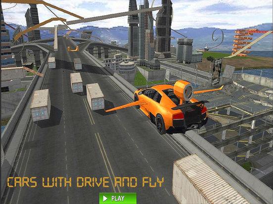 Flying Jet Cars: Extreme Supercars Robots screenshot 7