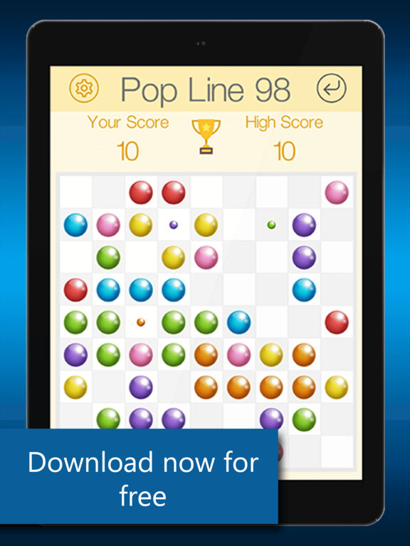 LINES98 POP PUZZLE Screenshots