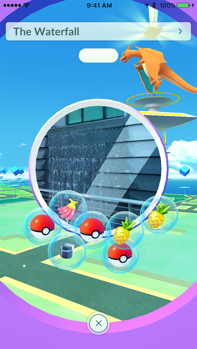 Screenshot of Pokémon GO App