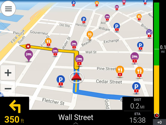CoPilot USA - GPS Navigation & Offline Maps Screenshots