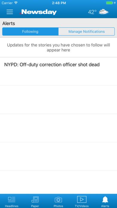 Newsday app image