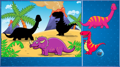 dinosaur world : pre-k puzzle screenshot 4