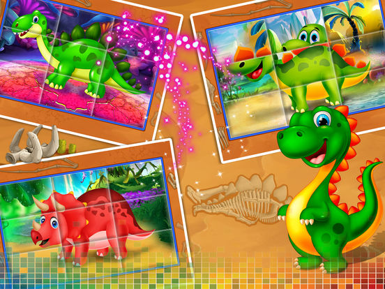 Dinosaur swap puzzle screenshot 7