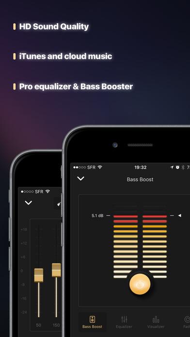 Equalizer+ premium: music player & bass booster Screenshot