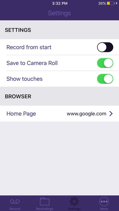 Web Recorder - Record Video for Browser screenshot 2