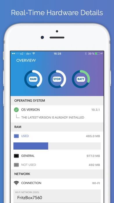 Neptune Plus - Check Your Hardware & Software Screenshots