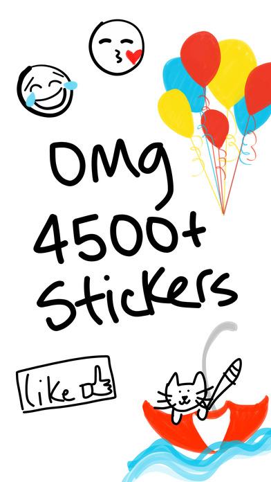 mDeltaV Stickers for iMessage - free emoji sticker screenshot 1
