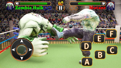 Incredible Monster Superheroes Ring Battle screenshot 4