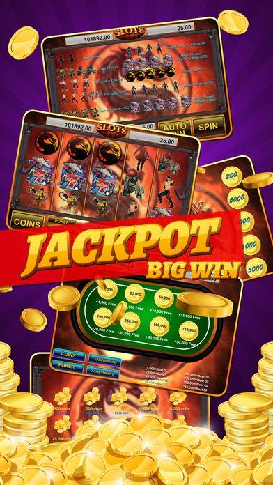 Screenshot 1 Slot Poker in Combat Casino