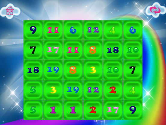 Numbers Memory Flash Cards Game screenshot 9