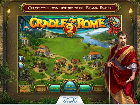 Screenshot #1 for Cradle of Rome 2 HD