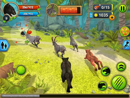Panther Family Sim - Wild Animal Jungle Simulatorscreeshot 5