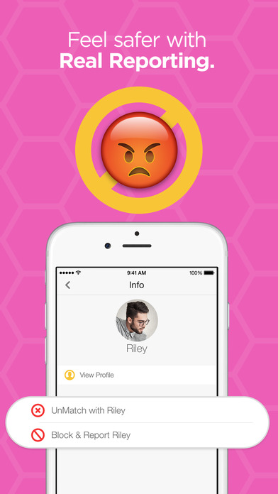 Screenshots of Bumble – Find a Date, Meet Friends & Network for iPhone