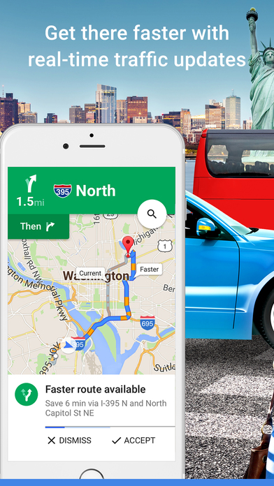 Google Maps Navigation Transit On The App Store - How many google maps cars are there in the us