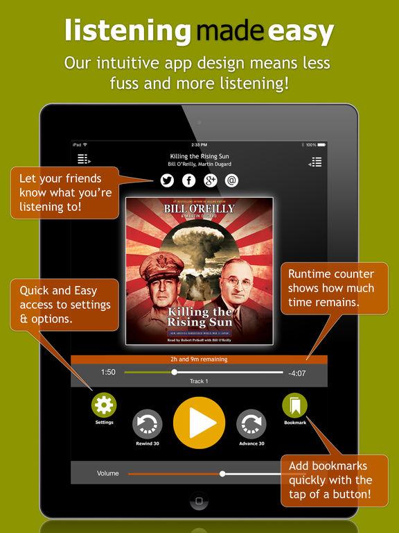 AudiobookSTORE.com - Audiobook Listening Made Easy Скриншоты7