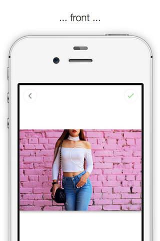 Body Editor Photo App Selfie Pic Effects Curvetune screenshot 3