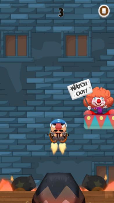 Super Human Cannonball screenshot 2