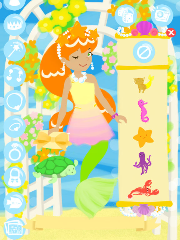Little Mermaid Fashion Show Screenshots