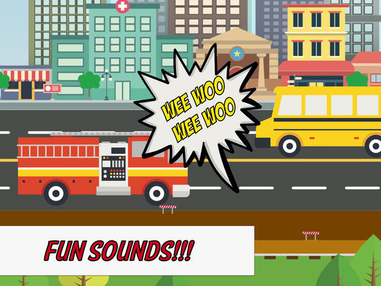Motor City: Kids & Toddlers' Cars & Trucks Game на iPad