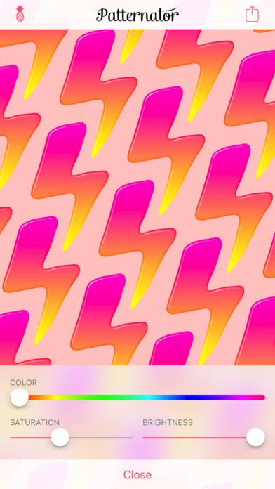 Screenshot #10 for Patternator Pattern Maker Backgrounds & Wallpapers