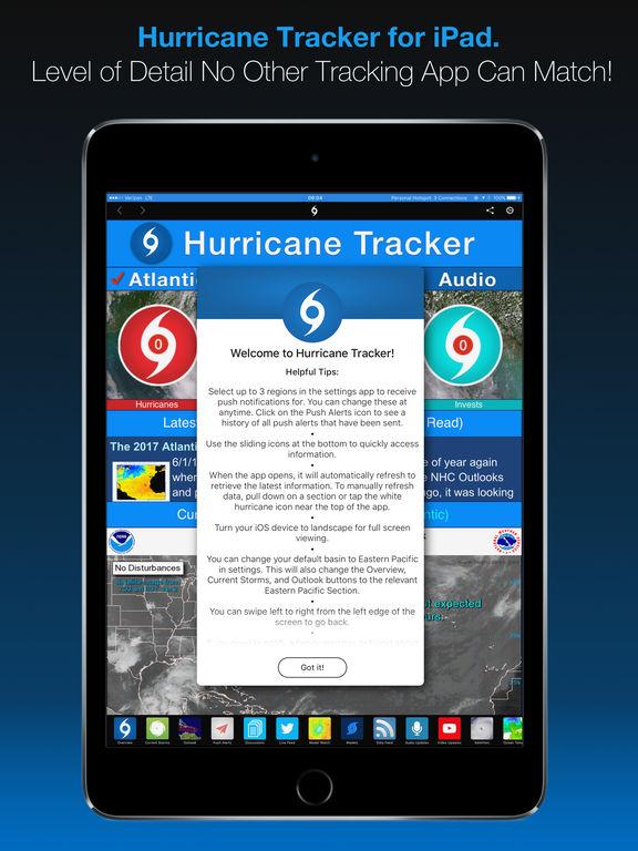 Screenshot #5 for Hurricane Tracker For iPad