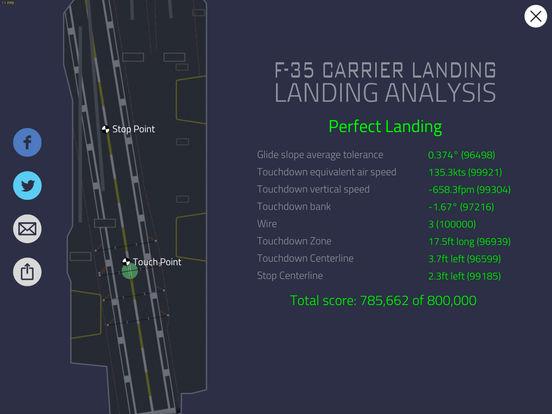 F35 Carrier Landing HD screenshot 10