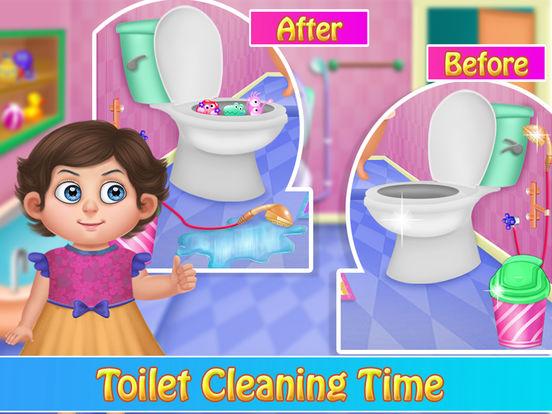 Little Baby Bathroom Hygiene screenshot 7