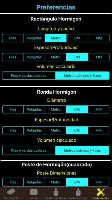 Screenshot for Elite calculadora hormigón Albañilería de cemento in Ecuador App Store