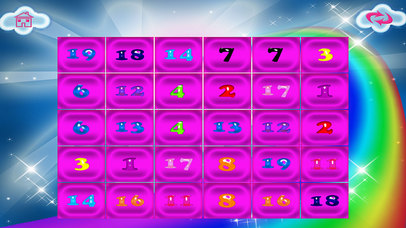 Numbers Memory Flash Cards Game screenshot 5